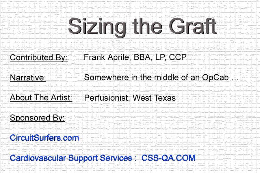 Sizing the Graft (2)