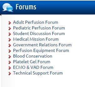 Sidebar Forums