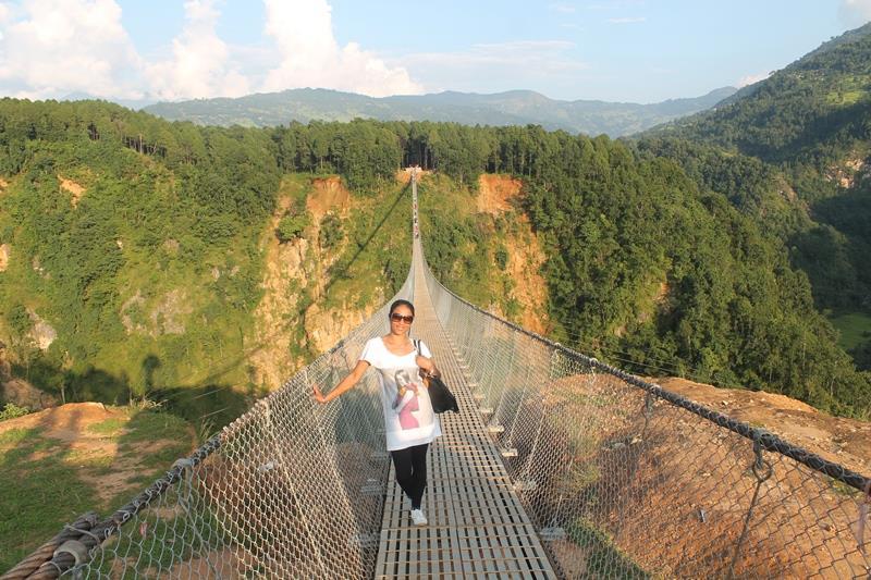 longest suspension bridge of Nepal