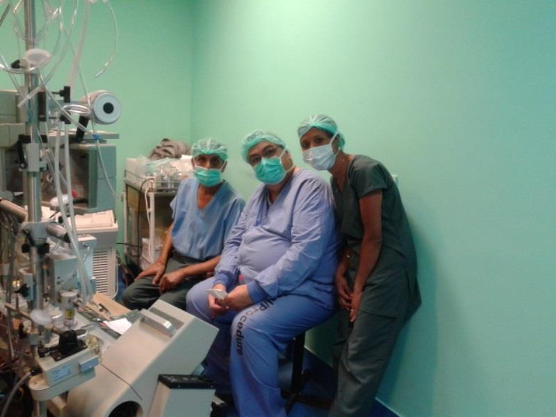 with Jeff one of senior perfusionist