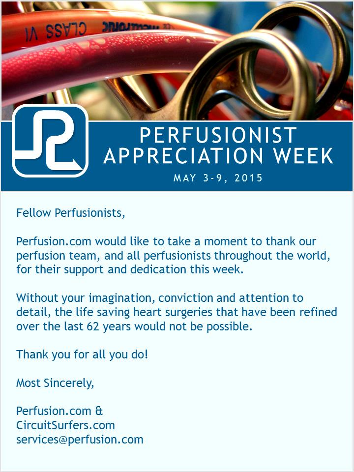 Perfusion Apprecition Week