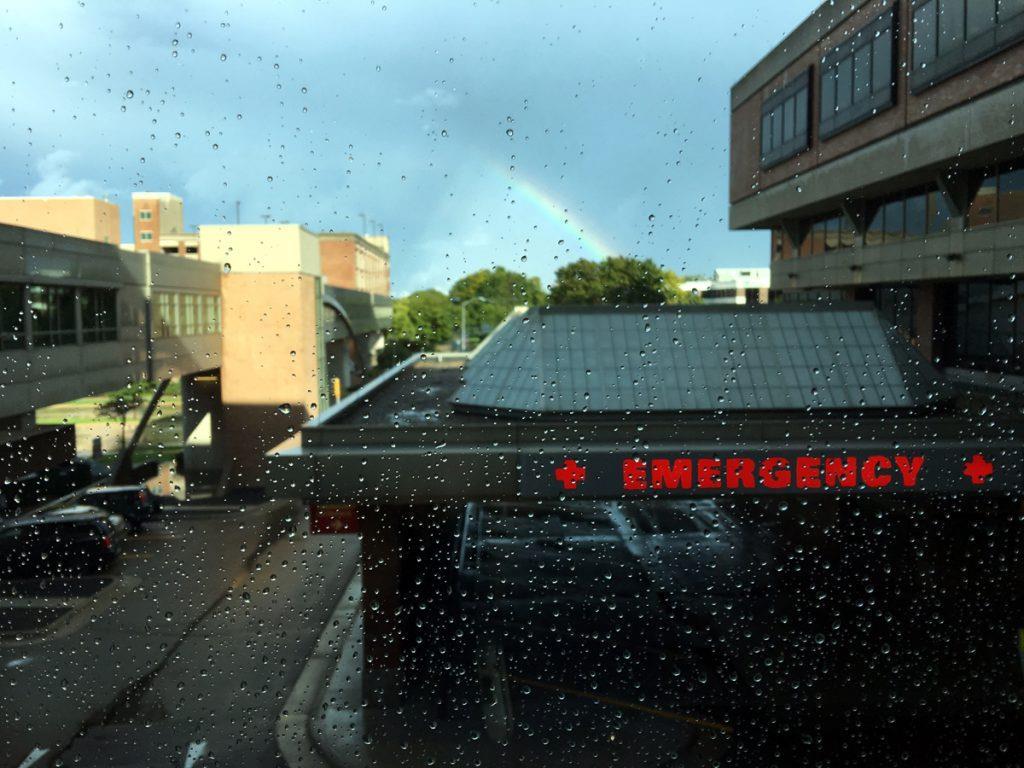 Rainbows and TAVR's b