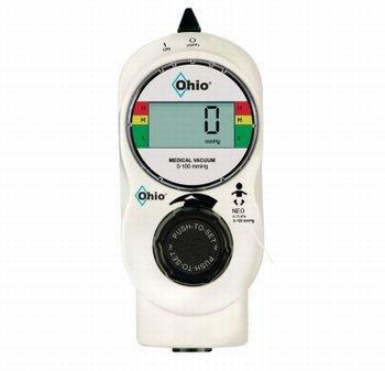 Digital (VAVD) Vacuum Regulator RED (0-100mmHg)