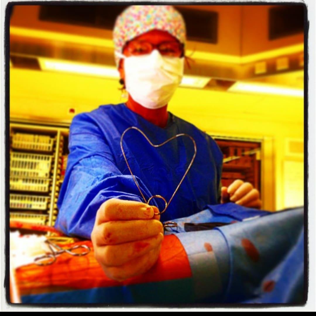 cover, heart, nurse